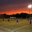 trinity7-pregame-stretch-sunset