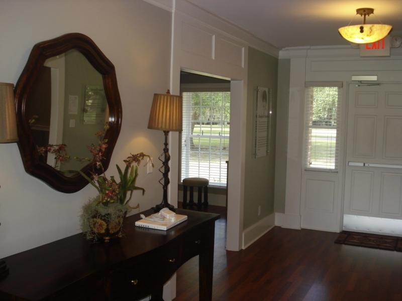 Cottage interior - Alumni foyer