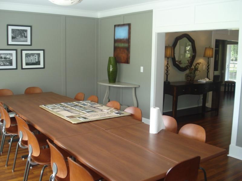 Cottage interior - Alumni dining area