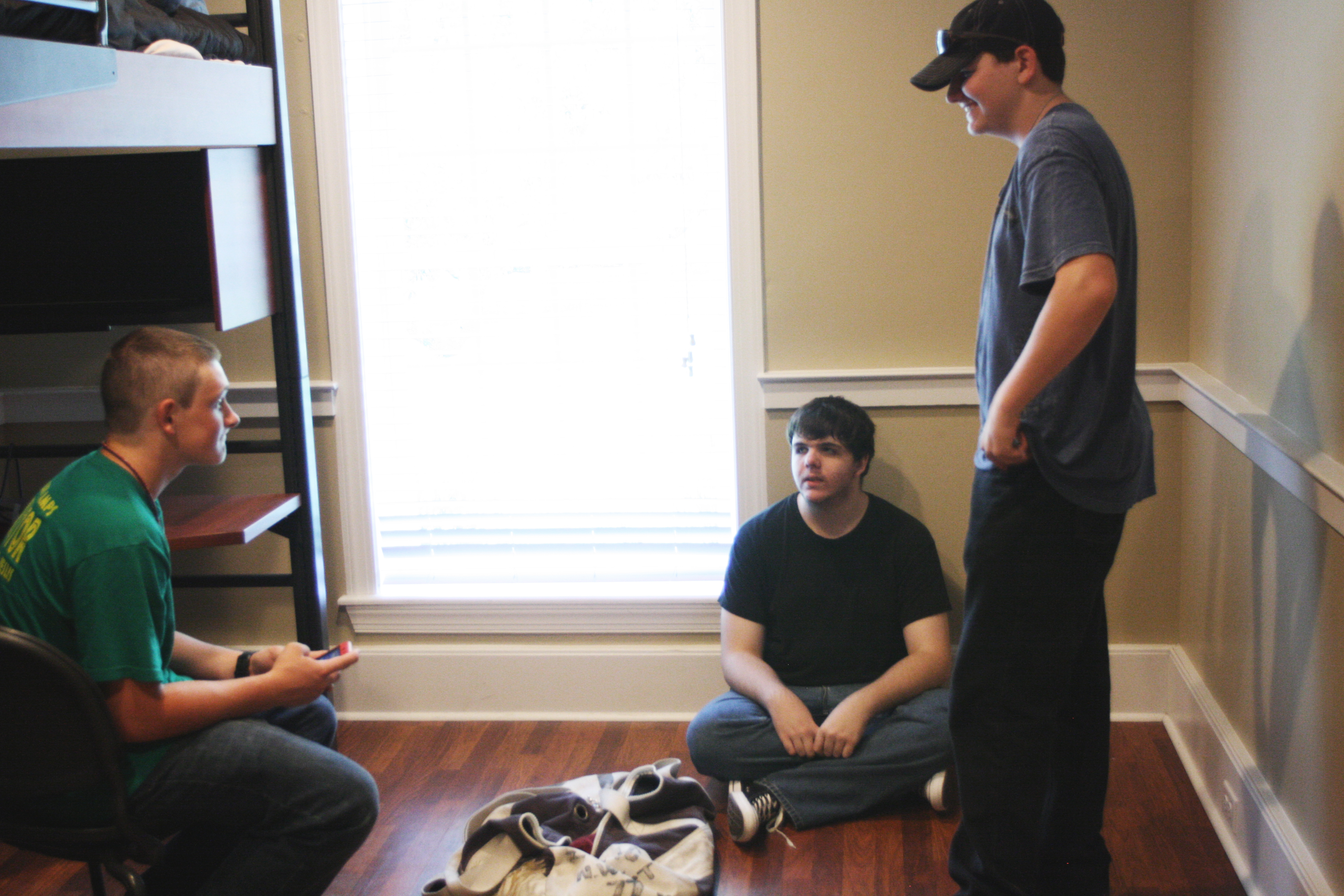 Move In Day13 - Nathan - Joseph - Kevin