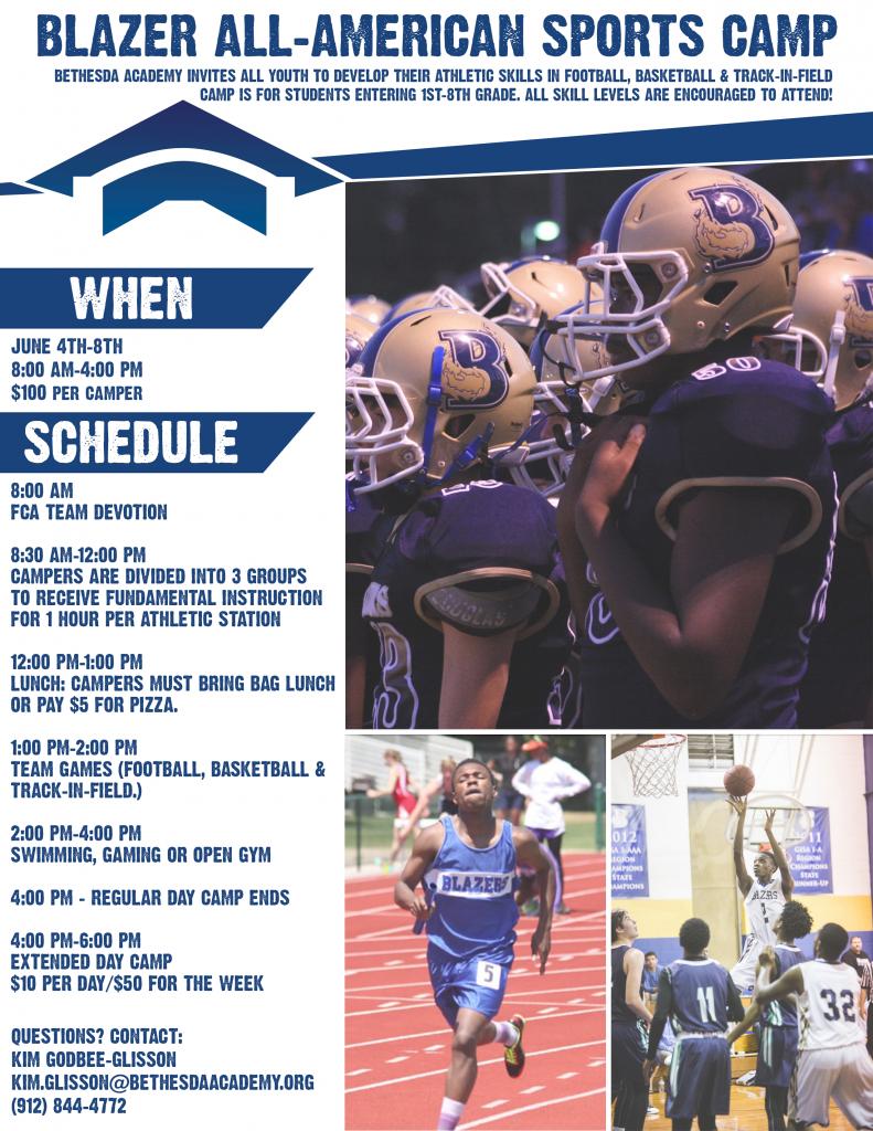 Bethesda Academy Sports Camps