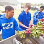 Bethesda Academy Farm & Garden Work-Study class